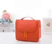Heavy Duty Waterproof Hanging Toiletry Bag - Travel Cosmetic Makeup Bag for Women & Shaving Kit Organiser Bag for Men