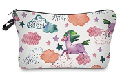 Unicorn Cloud Design Water Colour Like Cosmetic Travel Bag Great Fun Gift For All Kids, Teens, & Adults! 23cm . x 13cm .