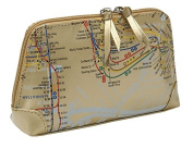 Map Cosmetic Clutch (Gold)