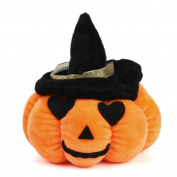 Halloween Doll,Rosiest Halloween Pumpkin Pillow Doll Plush Toy Devil Diameter 13cm