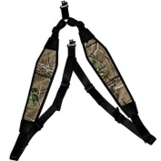 GrovTec US GTSL59 Padded Backpack Sling with Swivels Realtree Xtra Green