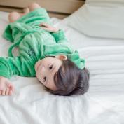 UHBGT Flannel Baby Robes Coat, Unisex Cartoon Animal Warm Bath Robe Gown Cartoon Nightwear Sleepwear for Kids Children Monster XS