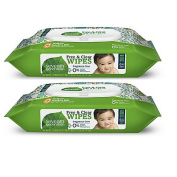 Seventh Generation Thick & Strong Baby Wipes, 64 ct