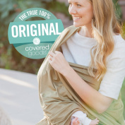 Covered Goods - The Original Multi Use Maternity Breastfeeding Nursing Cover, Infinity Scarf, and Car Seat Cover - Army