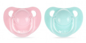 Reizbaby Soft Silicone Toddler Soothie Pacifier Baby Sleep Nipple with Dustproof Clip