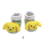 YJYdada Baby Kids Newborn Lovely 3D Cartoon Anti-Slip Socks Slipper Shoes Boots