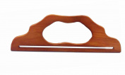 Ownstyle 30cm Fancy Wood Handles Wood Purse Handle For Sewing 2 pcs A Pair