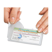 Qty 100 Hot 3 Mil. 6.7cm x 9.8cm Laminating Pouches Hunting Finishing Licence Clear