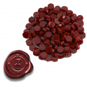 Sealing Wax Beads by the Pound-Crimson Red Pearl