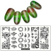 DIY Nail Art,Pattern DIY Nail Art Image Stamp Stamping Plates Manicure Template