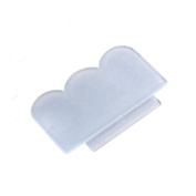 Nail Art Tool,Putar Sexy 2.4cm Clear Nail Art Stamping Stamper Scraper Image Plate Manicure Print Tool