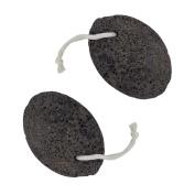 2pcs Pumice Stone Foot Scrubber Foot Rasp File Callus Dead Skin Remover Pedicure Scrubber Tool
