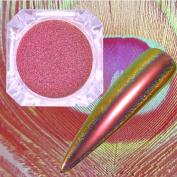Glitter Aluminium Flakes Magic Mirror Effect Powders Sequins Nail J