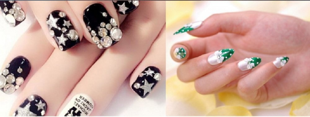 Zhiwen 10ml Nail Art Glue Foil Rhinestone Sticker Adhesive Jewelry