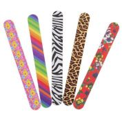 10pcs Multi Colour Floral Sanding Nail Files Nail Manicure Care Tools Nail Buffer Buffing Block Emery Boards Sticks
