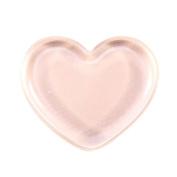 Heart-shaped Transparent Makeup Puff sponge For Liquid Foundation BB Cream Beauty Essentials,Hydrophilic soft Facial make up Sponge for sensitive skin by HODOD