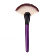 1pc Large Fan Shape Makeup Brush Foundation Powder Blush Brush Facial Beauty Cosmetic Brush