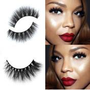 False Eyelash, Dressin 3D Mink Makeup Cross False Eyelashes Eye Lashes Extension Handmade