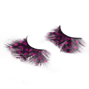 Feather False Eyelash, Dressin A Pair Single Magnetic Natural Ultrathin Magnet False Eyelash