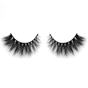 Extension Handmade Eye Lashes, LUCA 3D Mink Makeup Cross False Eyelashes