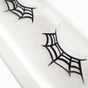 Franterd Spider web Eyelashes - A pair Halloween Party Makeup Arts Eye Lashes