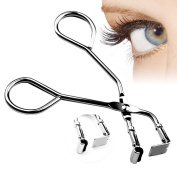 LUCKSTAR Eyelash Curlers - Mini Eyelash Curler Handle Partial Eye Lashes Curling Clip Steel False Eyelashes Makeup Beauty Tool