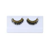 Fake Eyelashes - Franterd Women Soft Simulation Rhinestones Stage Makeup Fake Lash Beauty Cosmetic