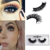 100% Real Minks 3D Fake Eyelashes Long Thick Lashes Natural Make Up Eye Lashes