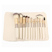 12Pcs Makeup Brushes with Cases Makeup Brush Set Cuekondy Foundation Brush Eyeshadow Brush Blending Brush Travel Set