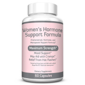 WOMEN'S HORMONE SUPPORT FORMULA – Extra Strength DIM 200mg with BioPerine, Dong Quai, Vitamin E, Balance Hormones, Oestrogen Metabolism, Mood Support, PMS Relief, Menopause Relief, 2 Month Supply