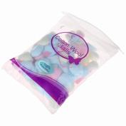 100pcs/Bag Colourful Nail Art Cotton Balls Nail Polish Remover Cleaner Pads