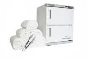 Double Door Hot Towel Warmer Cabinet UV Sterilise Including 72 Facial Towels Facial Nail Spa Beauty Salon Equipment TLC-3003