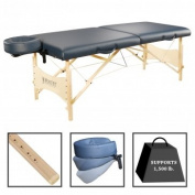 Best Massage Portable SPA Massage Table Package Royal Blue 70cm