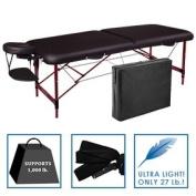 Best Massage Portable SPA Massage Table Black 70cm