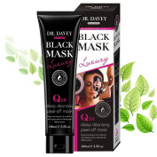 Essy Beauty Charcoal Blackhead Remover Mash with Q10 Peel-Off mask