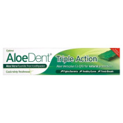 Optima Aloe Vera Dent Triple Action Toothpaste Tube (100ml) - Pack of 2