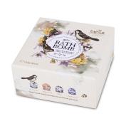 Bath Bomb Gift Set Organic Essential Oil Fizzy Aromatherapy Moisturising Sea Salt SPA Bath,10.5x10.5cm