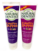 Prevent Cavities With Natural Dentist Kids Toothpaste SLS Free Cavity Zapper Fluoride Gel helps Strengthen teeth and fight cavities