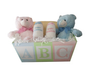 Baby Gift Idea ABC Baby Gift Basket