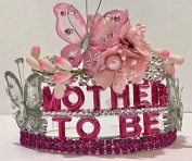 Mother To Be Butterfly Tiara Crown Baby Shower Gift Keepsake