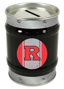 Rutgers Scarlet Knights Tin Money Bank