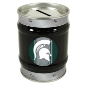 Michigan State Spartans Tin Money Bank