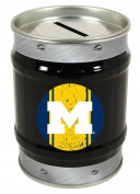 Michigan Wolverines Tin Money Bank