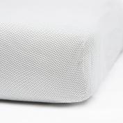 Oilo Mosi Jersey Crib Sheet, Charcoal