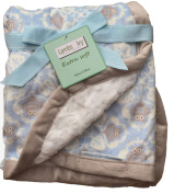 Lambs and Ivy, Baby Boy Blankets, Warm and Cosy, Extra Soft Micro Plush Fleece Blanket, Anti-Pilling, Sherpa Backing, Multiple Designs and Themes