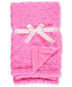 Coney Isle Plush Baby Blanket - hot pink, one size