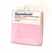 Pink Fitted Crib Sheet Cotton
