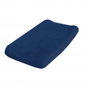 Go Mama Go Minky Changing Pad Cover, Navy