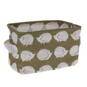 VANKER Cotton Linen Collapsible Rectangle Storage Box Container Bag Home Organiser