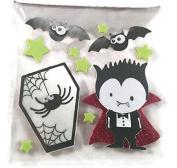 Halloween Vampire Foam 3d Stickers with Wiggle Eyes